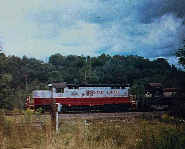 Mountain Laurel Locomotive